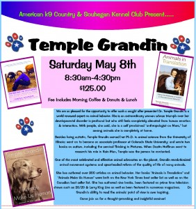 Dr.Temple Grandin to speak in Amherst